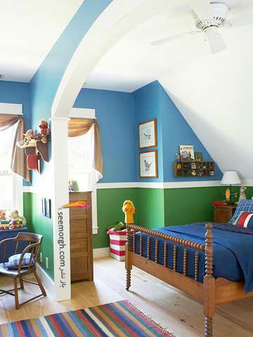 یک چیدمان زیبا برای اتاق پسرکوچولویتان