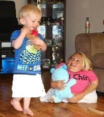 تفاوت قد مادر و فرزند!