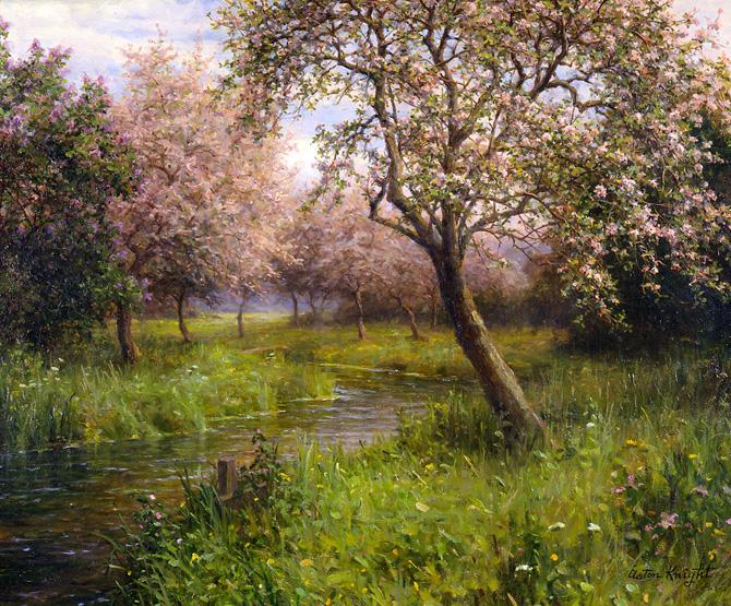 شکوفه های سیب Apple Blossoms