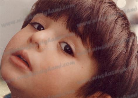 عکس   عکس نیوشا ضیغمی وقتی دختری کوچولو بود