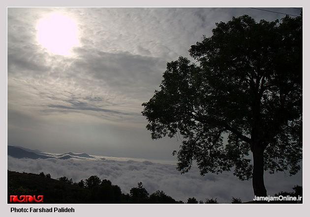 تصاویر طبیعت زیبای نوشهر و نور