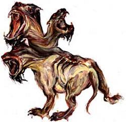 سگی با سه سر