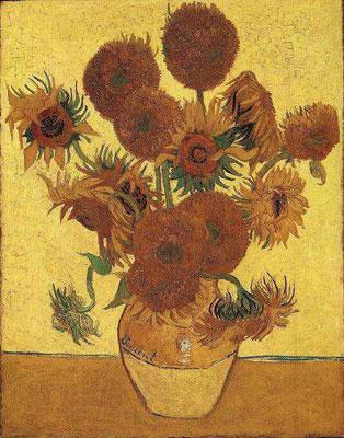 گلهای آفتابگردان-وینسنت ون گوک