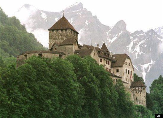 محل زندگی رهبران کشورهای مختلف قصر وادوز، محل سکونت شاهزاده لینکنشتاین