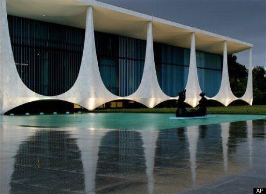 کاخ آلوراده، نمادی ار هنر مدرن، محل سکونت رئیس جمهور برزیل