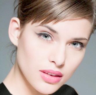 آرایش وزیبایی، آرایش، چشم آبی، پوست سفید