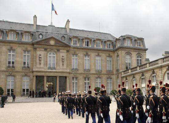 کاخ الیزه، محل سکونت رئیس جمهور فرانسه