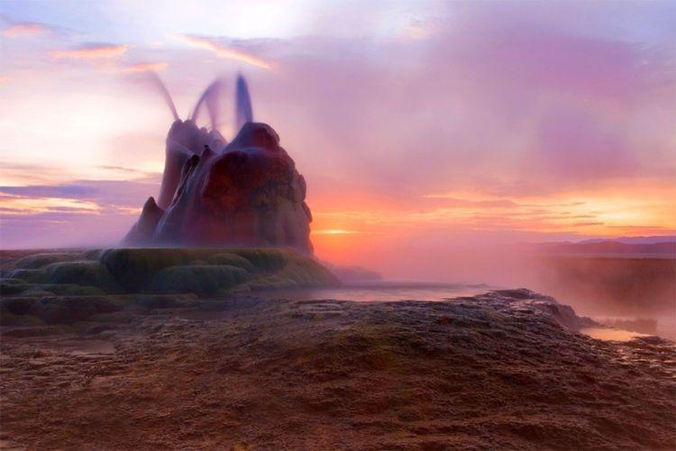 سیاه سنگ کویر ، نوادا ، ایالات متحده آمریکا