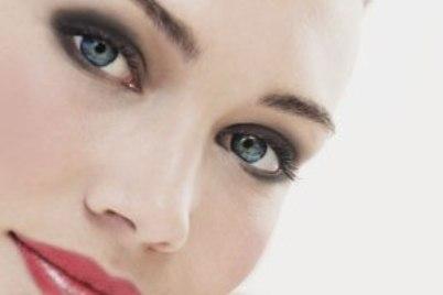 آرایش وزیبایی، آرایش، چشم آبی، پوست سفید، میکاپ