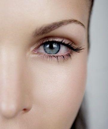 مدل ابرو برای خانمها در صورت هایی با بینی پهن - مدل شماره 1