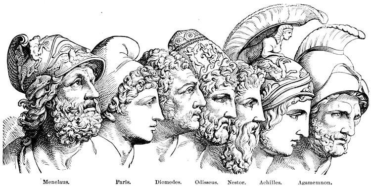 افسانه تروا,جنگ تروا,یونان باستان