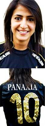 نازنین؛ دختر فوتبالیست ایرانی الاصل در سوئد! (+عکس)
