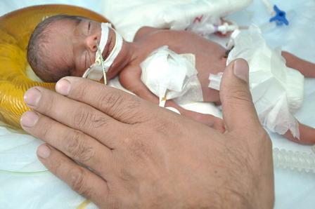عکس تولد طبیعی نوزاد