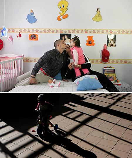 عکس زندان مخصوص زوج های خلاف کار با امکانات