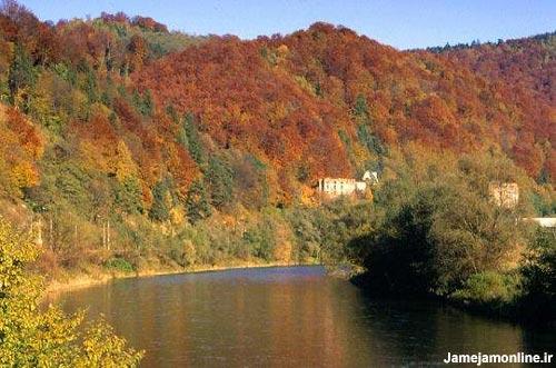 طبیعت زیبای پاییزی در لهستان