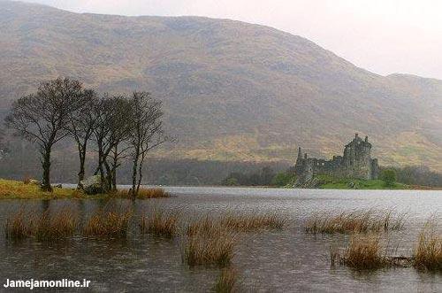 طبیعت اسکاتلند در پاییز