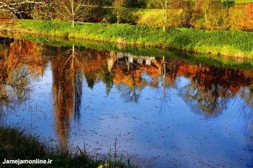 طبیعت زیبای پاییزی در فرانسه
