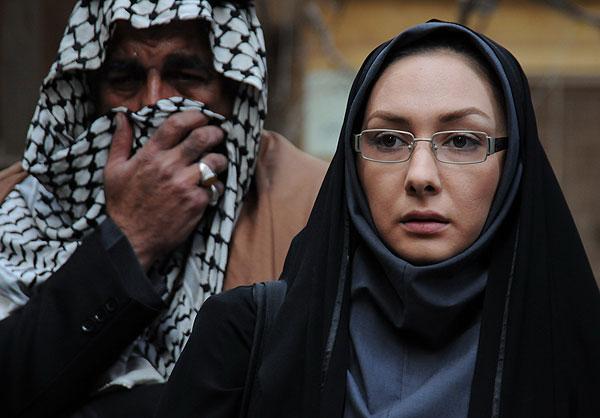 عکسهای هانیه توسلی با چهرهای جدید در فیلم سینمایی عصر روز دهم!