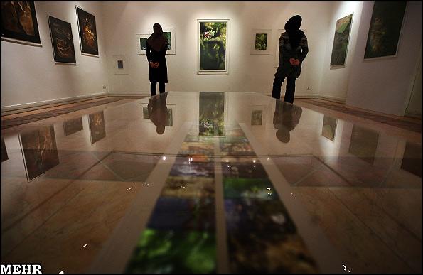 نمایشگاه هدیه تهرانی