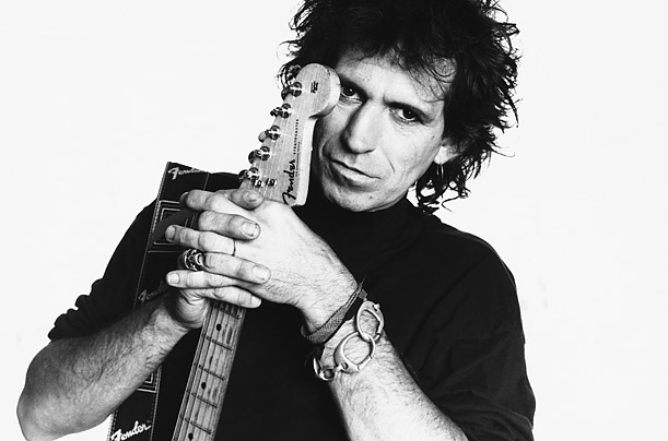 نوازنده گیتار,گیتار برقی,نوازندگی,راک,کیت ریچاردز