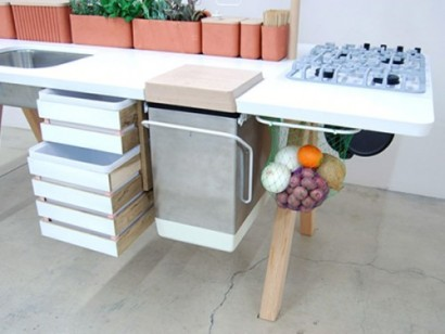 آشپزخانه سیار مدرن