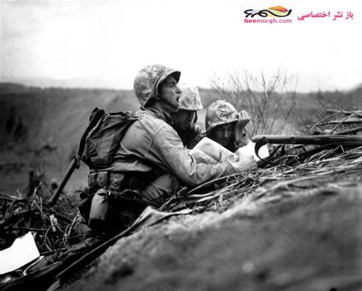 عکس دیدبانی سربازان در جنگ جهانی دوم