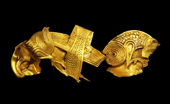 گنجینه طلای آنگلو ساکسونها