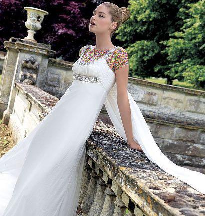 مدل لباس عروس های زیبای دوتزن کروس - مدل شماره 11