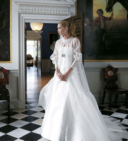 مدل لباس عروس های زیبای دوتزن کروس - مدل شماره 12