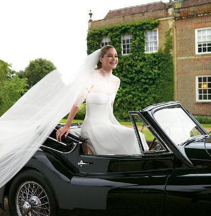 مدل لباس عروس های زیبای دوتزن کروس - مدل شماره 13