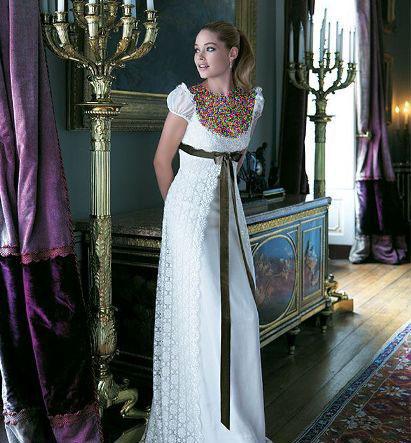 مدل لباس عروس های زیبای دوتزن کروس - مدل شماره 14