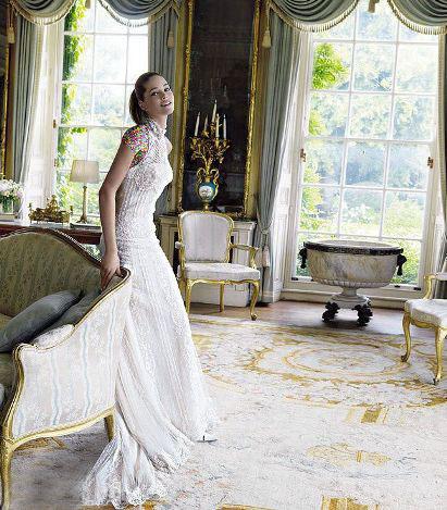 مدل لباس عروس های زیبای دوتزن کروس - مدل شماره 4