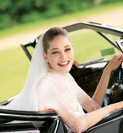 مدل لباس عروس های زیبای دوتزن کروس - مدل شماره 16