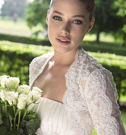 مدل لباس عروس های زیبای دوتزن کروس - مدل شماره 21