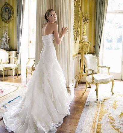لباس عروس دوتزن کروس