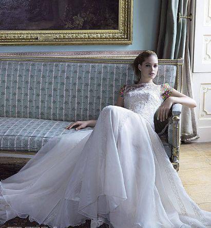 مدل لباس عروس های زیبای دوتزن کروس - مدل شماره 17