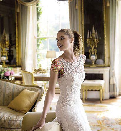 مدل لباس عروس های زیبای دوتزن کروس - مدل شماره 19