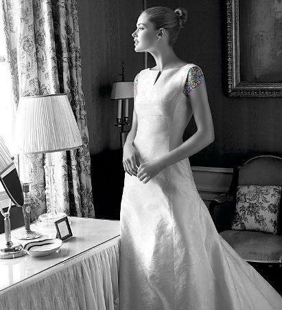 مدل لباس عروس های زیبای دوتزن کروس - مدل شماره 5