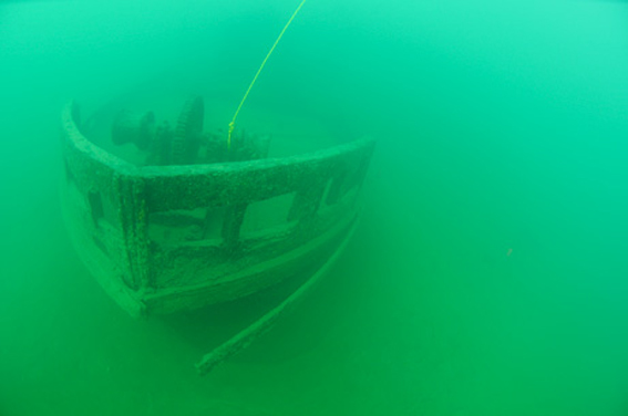کشتی ارواح جویندگان طلا