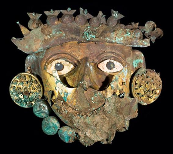 مقبره یکی از پادشاهان پرو