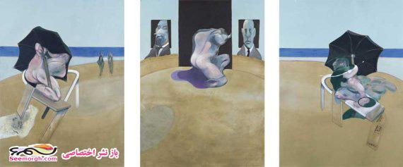 نقاشی سه لته اثر فرانسیس بیکِن