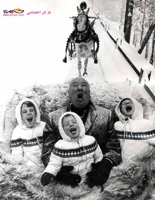 آلفرد هیچکاک و فرزندانش