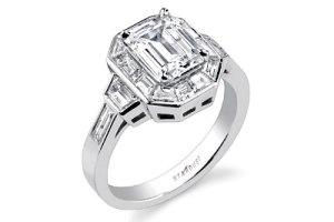 حلقه ازدواج سفارشی با نگین الماس