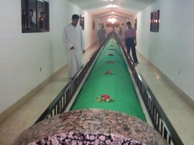 عکس: مقبره حضرت نوح و عصای حضرت موسی و عمامه یوسف! www.TAFRIHI.com