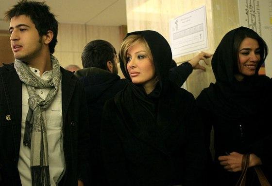 چهره متفاوت نیوشا ضیغمی در جشنواره فجر! (+عکسهای شیلا خداداد) - http://www.funpatogh.com