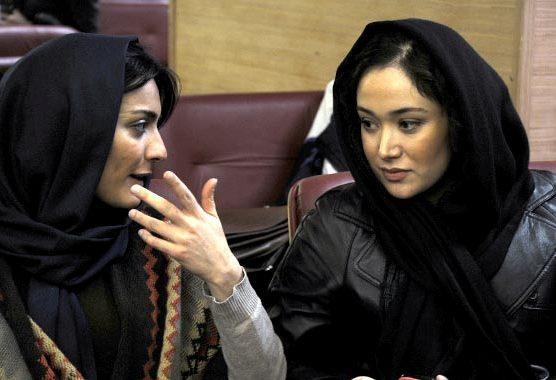 جدیدترین تصاویر مهناز افشار و لادن مستوفی بدون گریم!