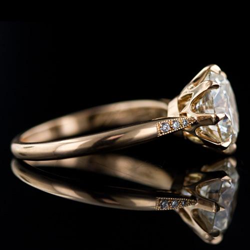 عکس های زیبا از انگشترهای جواهرنشان بسیار فاخر برای نامزدی!