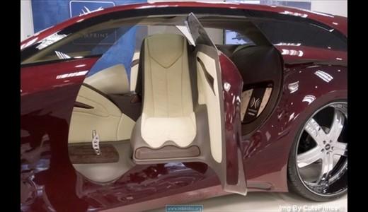 جدیدترین طراحی مرسدس بنز: ماشینی زیبا اما عجیب!! (+عکس) www.TAFRIHI.com