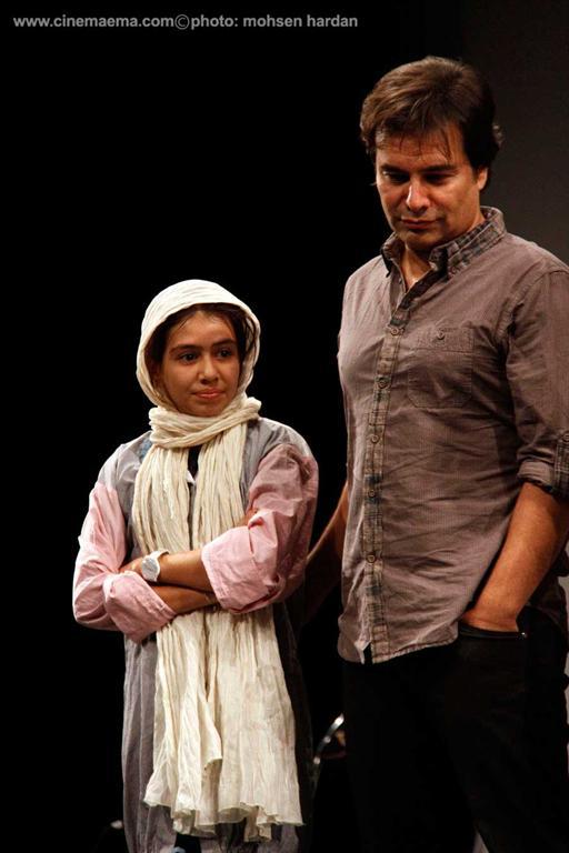 پیمان قاسمخانی و دخترش