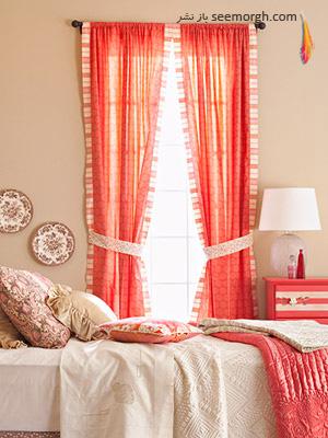 اتاق خواب رنگارنگ